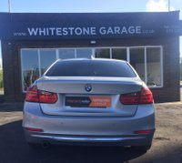 USED 2014 64 BMW 3 SERIES 2.0 320D LUXURY 4d AUTO 184 BHP £30 TAX, HEATED LEATHER SEATS, CLIMATE CONTROL, SATELLITE NAVIGATION, FRONT AND REAR PARKING SENSORS, LOW MILES,