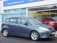 USED 2012 62 FORD C-MAX 1.6 ZETEC 5dr (104bhp) ... SERVICE HISTORY.  BEAUTIFUL CONDITION.