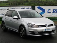2015 VOLKSWAGEN GOLF 1.6 BLUEMOTION TDI 5d 108 BHP £10750.00