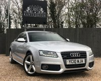 USED 2010 10 AUDI A5 2.0 SPORTBACK TDI QUATTRO S LINE 5dr 1 Year Parts & Labour Warranty