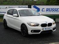 2015 BMW 1 SERIES 1.5 116D SPORT 5d 114 BHP £11250.00
