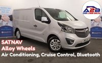2015 VAUXHALL VIVARO 1.6 CDTi 2700 SPORTIVE BI-TURBO 120 BHP with SAT NAV, Alloy Wheels, Air Conditioning, Bluetooth, Cruise Control and more... £9980.00