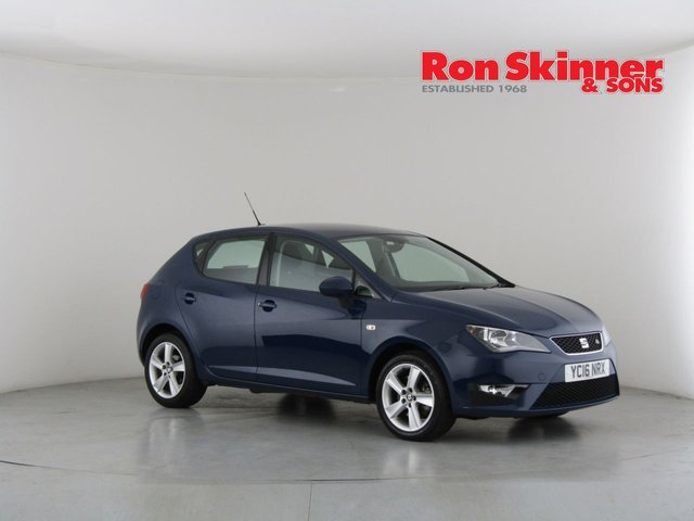 View our 2016 16 SEAT IBIZA 1.2 TSI FR TECHNOLOGY 5d 109 BHP