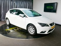 USED 2014 64 SEAT LEON 1.6 TDI SE TECHNOLOGY 5d 105 BHP £0 DEPOSIT FINANCE AVAILABLE, AIR CONDITIONING, BLUETOOTH CONNECTIVITY, CLIMATE CONTROL, CRUISE CONTROL, DAB RADIO, DAYTIME RUNNING LIGHTS, SATELLITE NAVIGATION, START/STOP SYSTEM, STEERING WHEEL CONTROLS, TOUCH SCREEN HEAD UNIT, TRIP COMPUTER