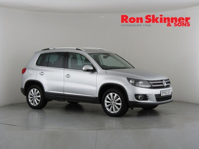 View our 2013 63 VOLKSWAGEN TIGUAN 2.0 MATCH TDI BLUEMOTION TECHNOLOGY 4MOTION 5d 139 BHP
