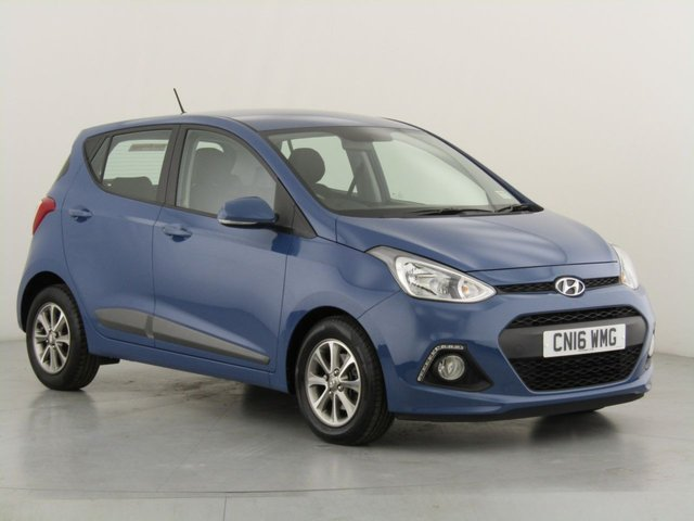 View our 2016 16 HYUNDAI I10 1.0 PREMIUM BLUE DRIVE 5d 65 BHP