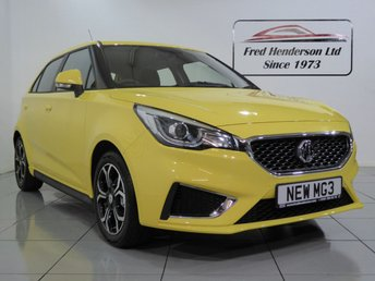 2018 MG 3 1.5 EXCLUSIVE VTI-TECH 5d 106 BHP £10990.00