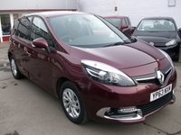 2013 RENAULT SCENIC 1.5 DYNAMIQUE TOMTOM ENERGY DCI S/S 5d 110 BHP £7495.00
