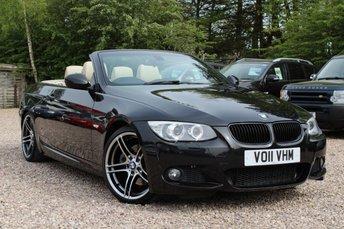 2011 BMW 3 SERIES 3.0 325I M SPORT 2d 215 BHP £10950.00