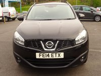 USED 2014 14 NISSAN QASHQAI 1.5 DCI 360 5d 110 BHP Navigation*Panoramic sunroof*Reverse camera*Meda