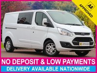 USED 2015 15 FORD TRANSIT CUSTOM 2.2 TDCI LIMITED 6 SEAT COMBI VAN L2H1 290 130BHP 6 SEATS LONG WHEEL BASE TWIN SLIDING DOORS AIR CON