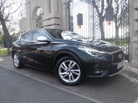 USED 2017 17 INFINITI Q30 1.5 BUSINESS EXECUTIVE D 5d AUTO 107 BHP ****FINANCE ARRANGED****PART EXCHANGE WELCOME***1 OWNER *NAV*STOP/START*PART LEATHER*HEATED SEATS*BTOOTH