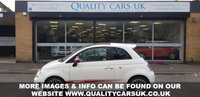 USED 2013 63 ABARTH 500 1.4 ABARTH 3d 135 BHP Red Leather Interior