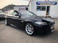 2013 BMW 5 SERIES 2.0 520D M SPORT 4d AUTO 181 BHP £13995.00