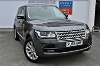 USED 2014 64 LAND ROVER RANGE ROVER VOGUE 3.0 TDV6 VOGUE Totally Stunning 5d Family SUV 4x4 AUTO with Massive High Spec inc Sat Nav Electric Opening  Panoramic Glass Sunroof Ft and Rr Heated Luxury Leather Seats DAB Bluetooth Mobile Handsfree and Full Service History and Ready to Drive Away Today PERFECT FAMILY 4X4 SUV!