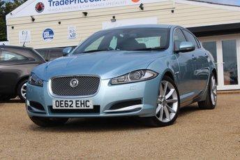 2012 JAGUAR XF 3.0 D V6 PREMIUM LUXURY 4d AUTO 240 BHP £10500.00