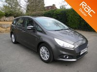 USED 2016 16 FORD S-MAX 2.0 ZETEC TDCI 5d AUTO 148 BHP Great Size Family Car, 7 Seats, ULEZ Compliant, Sat Nav, Alloy Wheels, Bluetooth
