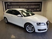 USED 2012 12 AUDI A3 1.6 TDI SPORT 3d + 2 FORMER KEEPERS + UPGRADED ALLOYS