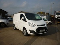2016 FORD TRANSIT CUSTOM 2.0 290 LIMITED L/ROOF VAN L1H1 130  Euro 6 ULEZ READY bluetooth aircon front and rear parking sensors and much more £12995.00