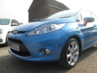 USED 2009 59 FORD FIESTA 1.2 ZETEC 5d 81 BHP AIR CONDITIONING - AUX INPUT