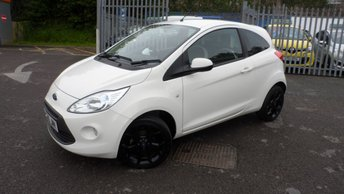 2015 FORD KA 1.2 ZETEC WHITE EDITION 3d 69 BHP £6495.00