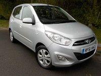 2012 HYUNDAI I10 1.2 ACTIVE 5d AUTO 85 BHP £SOLD