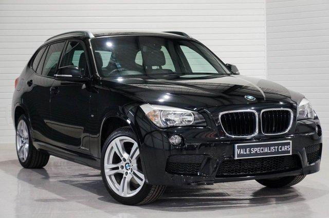 2013 63 BMW X1 2.0 XDRIVE20D M SPORT AUTO (SAT NAV)
