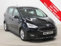 USED 2016 66 FORD GRAND C-MAX 1.5 ZETEC NAVIGATION TDCI 5d AUTO 118 BHP Stunning 1 Owner, Ford Grand C Max 7 Seat  Zetec Navigation Auto, 66 Plate, registered 28.11.2016, comes with Full Ford Service History and the Balance of Ford Warranty. Comes in beautiful Shadow Black and with an array of equipment including Sat Nav, Rarking Sensors, Air Conditioning, Bluetooth, Front & Rear Heated Windscreens, Leather Multi functional Steering Wheel, DAB Radio, Ford Sync, Alloys 2 Keys. RFL is just £30. Finance Available at 9.9% APR representative.