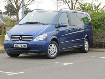2007 MERCEDES-BENZ VIANO 2.1 CDI LONG AMBIENTE 5d MANUAL 150 BHP £8999.00