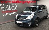 USED 2012 12 NISSAN NOTE 1.4 N-TEC PLUS 5d 88 BHP REALLY NICE GOOD MILEAGE, FULL SERVICE HISTORY EXAMPLE