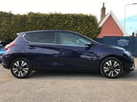 2016 NISSAN PULSAR 1.2 N-TEC DIG-T 5d LOW MILEAGE, SAT NAV AND ONE OWNER FROM NEW  £9000.00