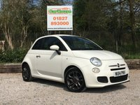 USED 2014 14 FIAT 500 0.9 TWINAIR S 3dr Half Leather, £0 Tax!