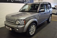 2011 LAND ROVER DISCOVERY 4 3.0 4 SDV6 HSE 5d AUTO 245 BHP £13899.00