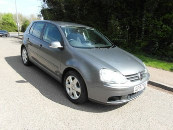2007 VOLKSWAGEN GOLF 1.6 FSI Match Petrol 5 door £4495.00