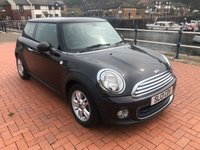 2013 MINI HATCH ONE 1.6 ONE 3d 98 BHP £5250.00