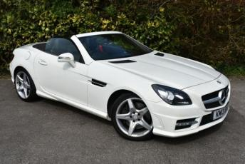 2019 MERCEDES-BENZ SLK 2.1 SLK250 CDI BlueEFFICIENCY AMG Sport Convertible 2dr Diesel 7G-Tronic Plus (s/s) (132 g/km, 204 bhp) £10950.00