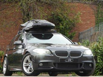 2012 BMW 5 SERIES 3.0 530D M SPORT TOURING 5d AUTO 255 BHP £14950.00