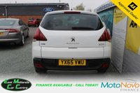 USED 2015 65 PEUGEOT 3008 1.6 BLUE HDI S/S ALLURE 5d 120 BHP DIESEL WHITE