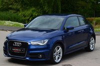 USED 2014 63 AUDI A1 1.6 TDI S LINE 3d 105 BHP ***SATELLITE NAVIGATION***