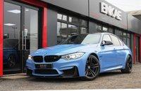USED 2015 L BMW M3 3.0 M3 4d AUTO 426 BHP *LANE ASSIST*COLLISION*CARBON PACK*NAV*REV CAM