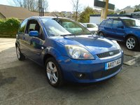 USED 2007 07 FORD FIESTA 1.2 ZETEC CLIMATE 16V 3d 78 BHP