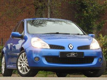 2006 RENAULT CLIO 2.0 RENAULTSPORT 197 3d 195 BHP £3690.00