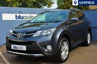 USED 2013 13 TOYOTA RAV-4 2.2 D-4D INVINCIBLE 5d 150 BHP Full Toyota Service History with Two Private Owners in Stunning Condition with Satellite Navigation Prep, Bluetooth Connectivity, Full Leather with Heated Front Seats & Electric Drivers' Seat...