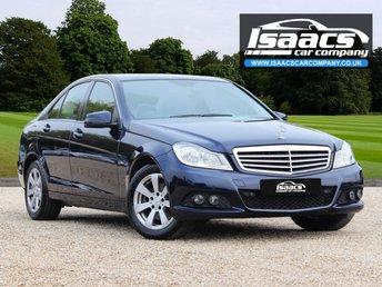 2011 MERCEDES-BENZ C CLASS 2.1 C220 CDI BLUEEFFICIENCY SE 4d AUTO 168 BHP £7995.00