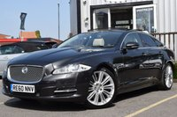 USED 2011 G JAGUAR XJ 3.0 D V6 PORTFOLIO SWB 4d AUTO 275 BHP FULL SERVICE HISTORY AND 2 KEYS, WITH ONE FORMER KEEPER.