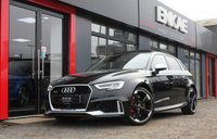 USED 2017 67 AUDI A3 2.5 RS 3 QUATTRO 5d AUTO 395 BHP *PAN ROOF*DYNAMIC PACK*MAG RIDE*LANE ASSIST
