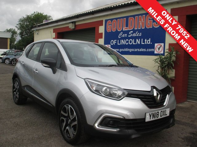 USED 2018 18 RENAULT CAPTUR 0.9 DYNAMIQUE NAV TCE 5d 90 BHP 62.8 MPG EXTRA - LED FOG LIGHTS