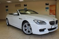 2012 BMW 6 SERIES 3.0 640D M SPORT 2d AUTO 309 BHP £20950.00