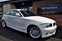 2010 BMW 1 SERIES 118D M SPORT 3DR £SOLD