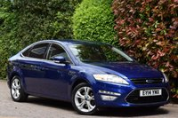 USED 2014 FORD MONDEO 2.0 TITANIUM X BUSINESS EDITION TDCI 5d 138 BHP